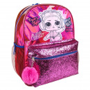 LOL - mochila casual fashion, fucsia