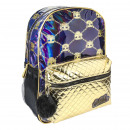 LOL - mochila casual fashion, dorado