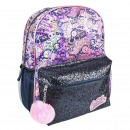 LOL - backpack casual fashion sparkly, pink