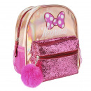 MINNIE - backpack casual fashion sparkly, pink