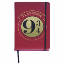 HARRY POTTER - Premium Notebook a5, bordeaux