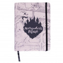 HARRY POTTER - premium Notebook , a5, marrone