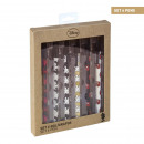 wholesale School Supplies: MICKEY - pen set pack x6, rainbow