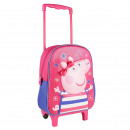 PEPPA PIG - trolley 3d nursery, pink