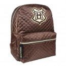 HARRY POTTER - backpack casual fashion, brown
