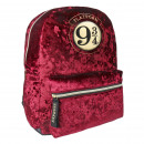 HARRY POTTER - backpack casual fashion velvet, bor