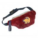 wholesale Licensed Products: LION KING - handbag riñonera pelo, bordeaux