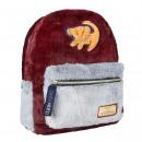 groothandel Tassen & reisartikelen: Lion King - rugzak casual haar pelo, bordeaux