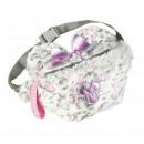MINNIE - handbag riñonera hair, pink