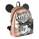 MICKEY - backpack casual fashion faux-leather, pin