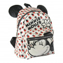 MINNIE - backpack casual fashion faux-leather, sil