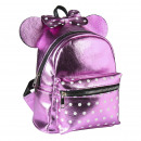 MINNIE - backpack casual fashion faux-leather, pin