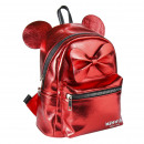MINNIE - backpack casual fashion faux-leather, red