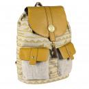 Lion King - mochila de viaje casual, beige