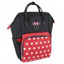 mayorista Artículos con licencia: Minnie - mochila de viaje casual, negro