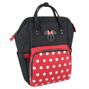 Minnie - mochila de viaje casual, negro