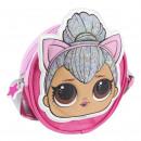 Großhandel Taschen & Reiseartikel: LOL - Handtasche 3d Kinder Umhängetasche, lila