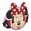 MINNIE - handbag 3d kids shoulder bag, red