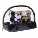 wholesale Licensed Products: MICKEY - travel set toiletbag, gold