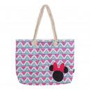 Großhandel Taschen & Reiseartikel: Minnie - Handtaschenstrand, pink