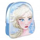 frozen - zaino vivaio 3d paillettes premium, blu