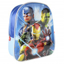 AVENGERS - kids backpack 3d premium metallized, bl