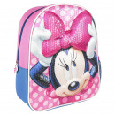 3D PREMIUM SEQUINS KIDS BACKPACK Minnie - one