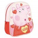PEPPA PIG - kids backpack 3d premium glitter, pink