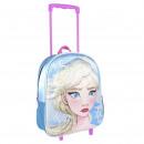 FROZEN II - trolley 3d nursery sequins, blue
