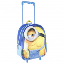 CHILDREN'S CART BACKPACK 3D ANTELINA Minions -