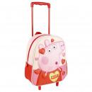 PEPPA PIG - trolley 3d nursery glitter, pink