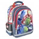 AVENGERS - backpack school premium, grey