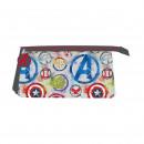 Großhandel Lizenzartikel: Avengers - Multifunktionskoffer flach 3 Taschen, g