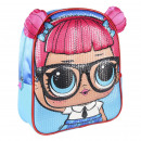 LOL - kids backpack 3d premium sequins, blue
