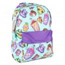 mayorista Regalos y papeleria: POOPSIE - mochila escolar glitter, turquesa