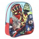 AVENGERS - kids backpack 3d, blue