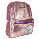 wholesale Licensed Products: CASUAL BACKPACK WITH METALLIC SEQUINS frozen twent