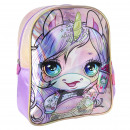 wholesale Gifts & Stationery: POOPSIE - kids backpack character sparkly, pink