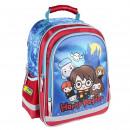 HARRY POTTER - backpack school premium, blue