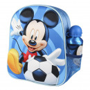 MICKEY - kids backpack 3d con accesorios, blue