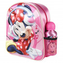 MINNIE - kids backpack 3d con accesorios, pink