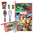 wholesale Suitcases & Trolleys: AVENGERS - travel set toiletbag, red