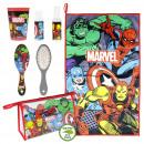 ingrosso Borse & Viaggi: Avengers - set da viaggio borsa da toilette, rosso