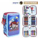 wholesale Licensed Products: HARRY POTTER - filled pencil case triple giotto pr