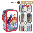 AVENGERS - filled pencil case triple giotto premiu