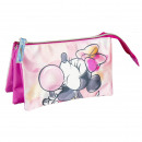 FLAT CASE / HOLDER 3 COMPARTMENTS Minnie -