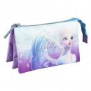 wholesale School Supplies: FROZEN II - multi functional case flat 3 pockets,