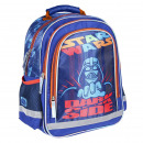 STAR WARS - backpack school premium brillante, blu