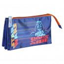 Star Wars - multifunctionele koffer plat 3 zakken,