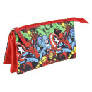 wholesale Licensed Products: AVENGERS - multi functional case flat 3 pockets, r